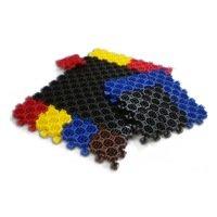Мелкоячеистые грязезащитные модульные покрытия
