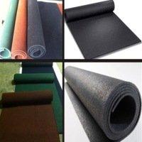 Рулонные ПВХ-покрытия, резиновые дорожки